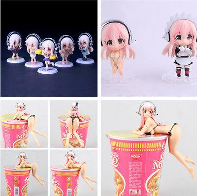 Super Sonic PVC Action Figur Figuren Spielzeug Geschenk Model (Anime Super Mädchen)