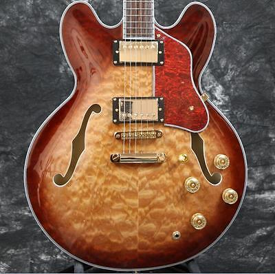 Style Hollow Body Electric Guitar - Starshine  Superb electric guitar semi hollow body 335 style 5A quilted maple