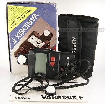 Gossen Variosix F Exposure Meter for Bornica Hasselblad Mamiya Linhf Leica Nikon