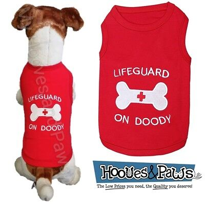 Parisian Pet Dog Embroidered T Shirt 100% Cotton Lifeguard Free USA - Dog Lifeguard Shirt