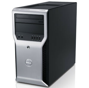 WorkStation Dell T1600 Xeon QuadCore 8GB DDR3 Nvidia Quadro W10