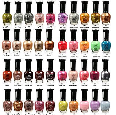 Lot of 40  kleancolor nail polish  -