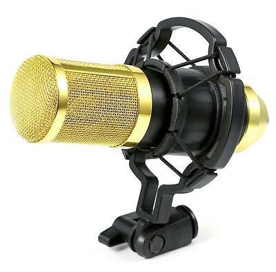 BM800 Condenser Pro Audio Microphone Black Sound Studio Dynamic Mic +Shock Mount