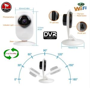 Simple Security WiFi Live View Digital Video Recorder DVR Camera