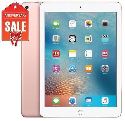 Apple iPad Pro 32GB, Wi-Fi + Cellular (Unlocked), 9.7in Rose Gold - GOOD (R-D)