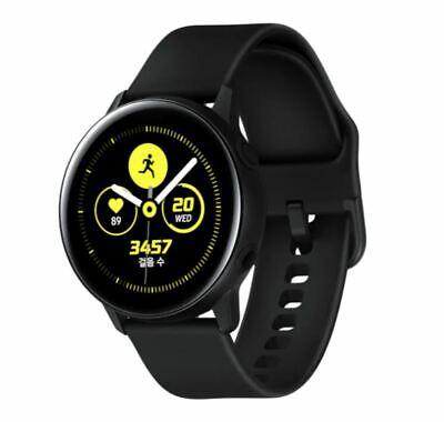 SAMSUNG Galaxy Watch Active 28.1mm SM-R500 Smartwatch Bluetooth Wifi Only-Black