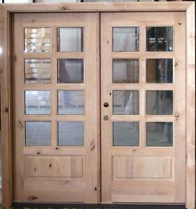 Pair of French doors 32x80 each Stratford Kitchener Area image 2