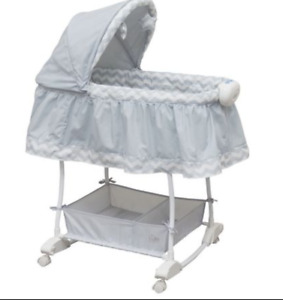 Baby - Bily Rocking Bassinet - Serene Chevron