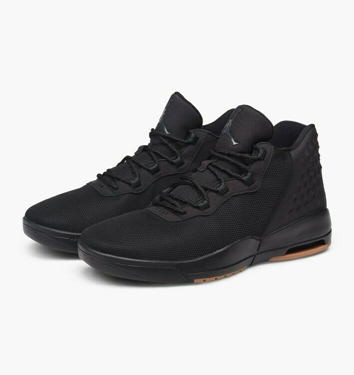 Jordan Academy BLACK/ANTHRACITE-GUM Basketball Shoes 844515-