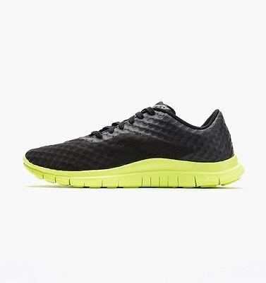 Nike Free Run 3.0 Hypervenom Black Volt Men's Running Shoes Football Futbol 7