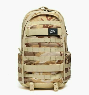 NIKE SB RPM DESERT CAMO SAND SKATEBOARDING BACKPACK GYM BAG LAPTOP BA6118 220