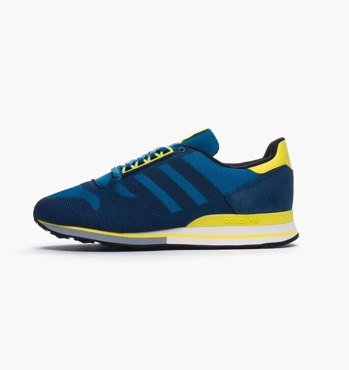 new product 01140 79cf4 ADIDAS ORIGINALS ZX 500 OG WEAVE MEN SNEAKERS TRAINERS UK 6.5 BLUE YELLOW  DEADSTOCK | in Ashford, Surrey | Gumtree