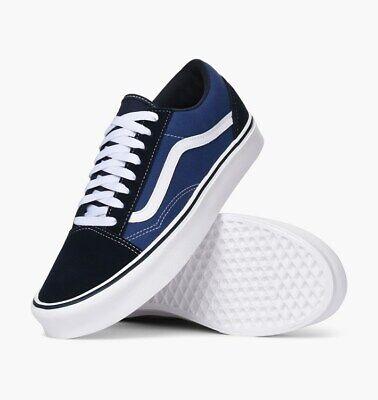 Vans OLD SKOOL LITE ULTRACUSH SKATE Shoes Size Men's 11 Navy