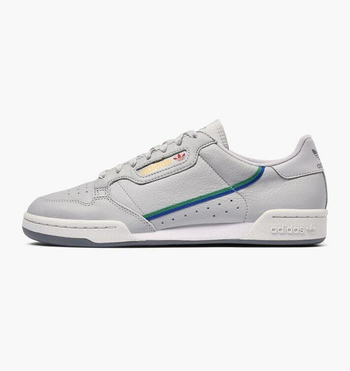 Adidas Originals Men's Continental 80 Shoes NEW AUTHENTIC Grey/Multi CG7128