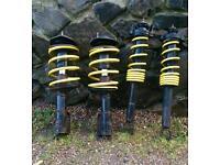 Mitsubishi evo 8 evolution lancer shocks with lowering springs
