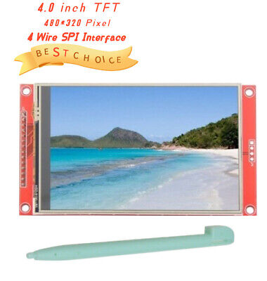 4.0 Inch Tft Lcd Touch Screen Display Module Board 480 X 320 Pixel Spi Interface
