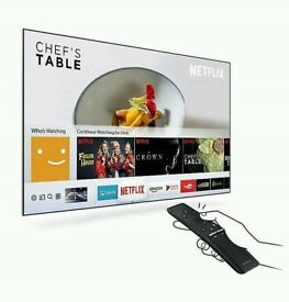 55in Samsung SMART LED TV wifi FREEVIEW HD WARRANTY