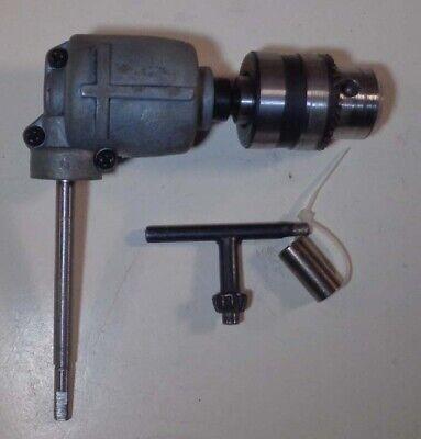 Vintage Right Angle Drive Drill Chuck Attachment 120 Ratio