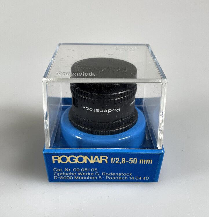 Rodenstock Rogonar 50mm f2.8 Darkroom Photo Enlarging Lens in Bubble Case