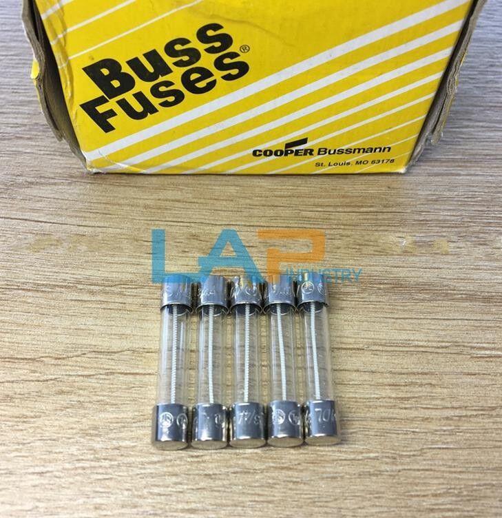 100Pcs NEW Bussmann BK/MDL-2-1/2-R Fuse Solar PV 2.5A 6.3X32MM #ZMI