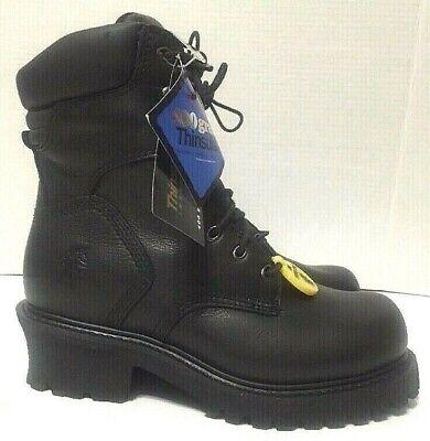 Chippewa Electrical Hazard Work Boots Black Steel Toe 400g Mens 55120 Choose Sz Chippewa Steel Toe Electrical