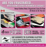 Liftnfind Clothing Dividers Home & Travel