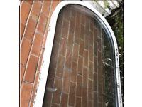 Upvc large arched window 3feet x 5 feet