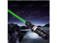 MILITARY PROFESSIONAL 532NM 1MW 8000M HIGH POWER GREEN LASER POINTER LIGHT LAZER BEAM
