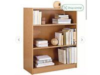 Small Bookcase Oak Effect