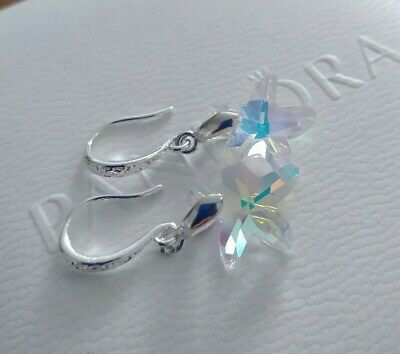 Unwanted gift Aurora starfish Swarovski Crystal Elements Earrings New