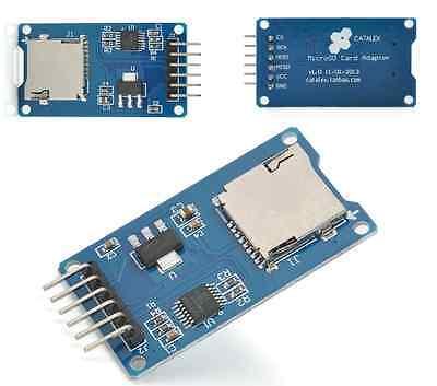 Micro Sd Storage Board Mciro Sd Tf-card Memory Shield Module Spi For Arduino New