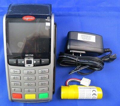 Ingenico Iwl250iwl255 Wireless 3g Emvnfc Wwarrantyonly For Elavon
