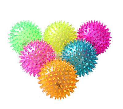 Funny Flashing Light Up High Bouncing Balls Hedgehog Ball Novelty Kid Toy US
