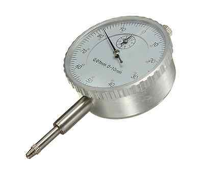 Dial Indicator Gauge 0-10mm Meter Precise 0.01 Resolution Concentricity Test Yun