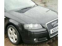 Audi a3 full front end in black