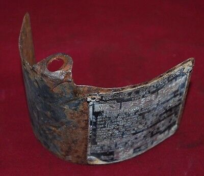 Briggs Stratton Model Wmb Heat Shield Gas Engine Motor Op13.1