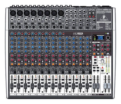 Behringer XENYX X2222USB 22-Channel Mixer Board w/ USB & FX  X2222-USB NEW!. Buy it now for 263.99