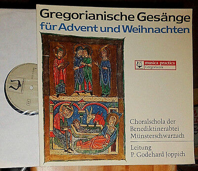 GODEHARD JOPPICH ABTEI  MÜNSTERSCHWARZACH GREGORIANISCHE GESÄNGE (GREGORIAN) LP