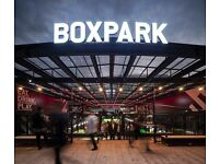 Sandwich Maker - BOXPARK CROYDON