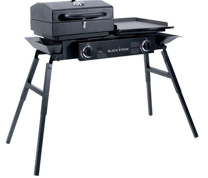 Blackstone Tailgater Portable Gas Grill and Griddle Combo, New