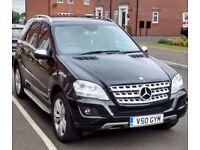 2008 (58 reg) Mercedes-Benz M Class 3.0 ML280 CDI Sport 7G-Tronic 5dr
