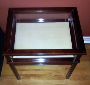 Solid wooden bombay curio table display table London Ontario image 2