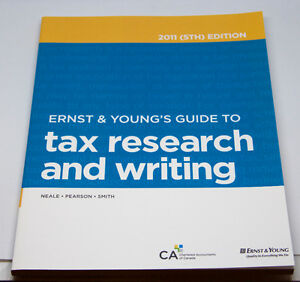 Ernst & Young's Federal Income Tax Act - 2011 (9th) Edition West Island Greater Montréal image 3