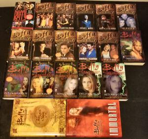 Lot of 19 Buffy the Vampire Slayer books