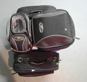 Tank Bag, Rear Bag and Saddlebags - Excellent Condition