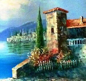 Oil on Canvas Painting Caroline Burnett Signed