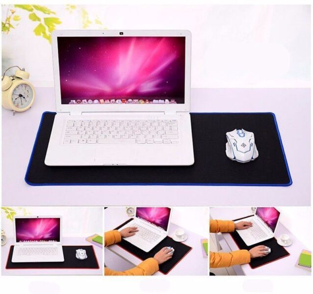 Mouse Mat at quality control XXL large pad, size 600 X 300 mm