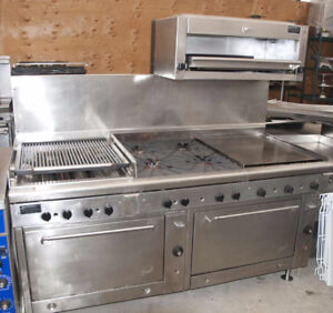 "QUEST 24"" BBQ, 24"" Hot Plate, 4-burner stove ..."