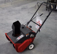 poor or nonrunning single stage snow blower / thrower wanted