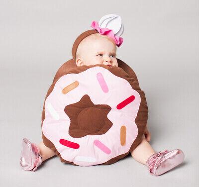 Kids Donut Halloween Costume (NWT/NEW POTTERY BARN KIDS INFANT BABY DONUT HALLOWEEN COSTUME 12-24 18)